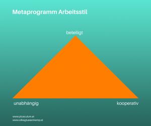 Metaprogramm Arbeitsstile
