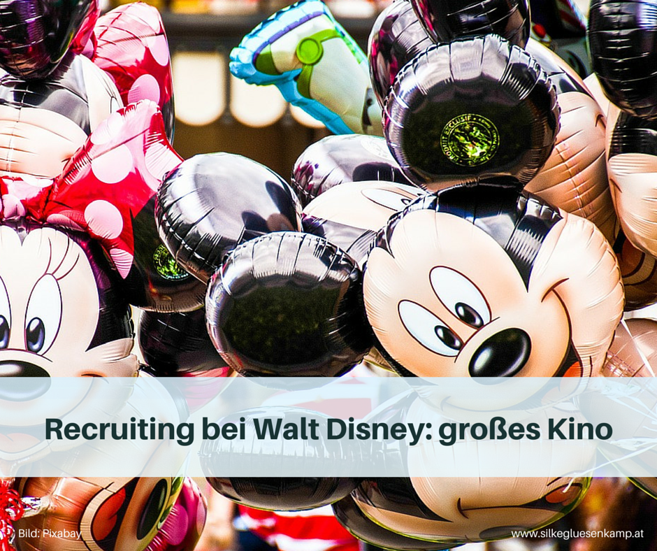 Recruiting bei Walt Disney