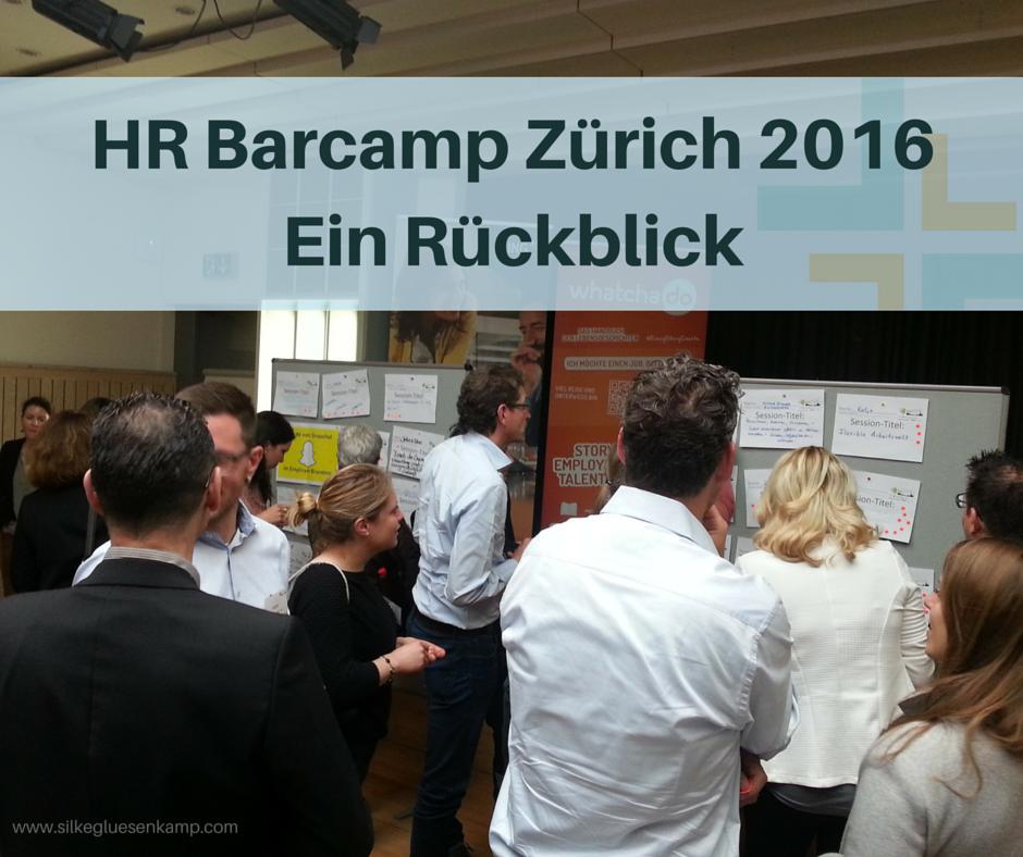 HR Barcamp in Zürich 2016