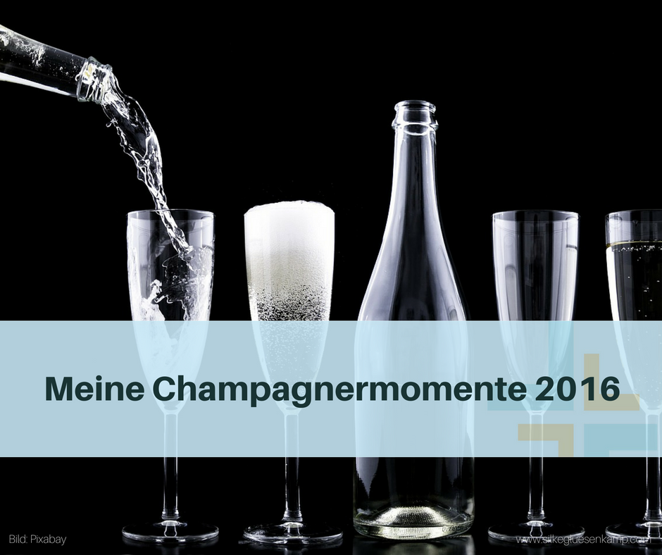 Silke Glüsenkamp Champagnermomente 2016