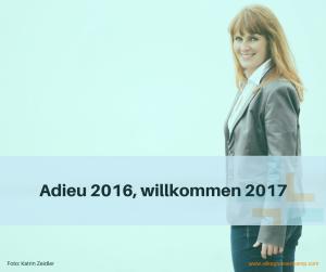 Adieu 2016, willkommen 2017